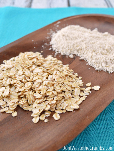 DIY: Homemade Oat Flour