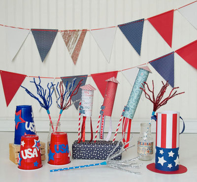 DIY Patriotic Craft Party for the Littles!