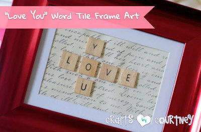 Word Tile Picture