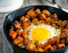 Yummy Sweet Potato and Eggs