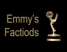 Emmy's 2018 Factiods