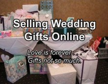 Selling Wedding Gifts Online