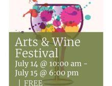 Los Altos Arts & Wine Festival – Saturday & Sunday, July 14 and 15, 2018