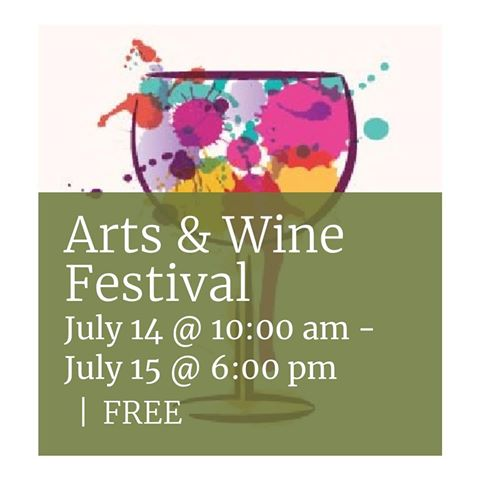 Los Altos Arts & Wine Festival - Saturday & Sunday, July 14 and 15, 2018