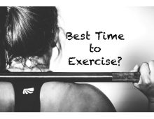 When's the best time to exercise?