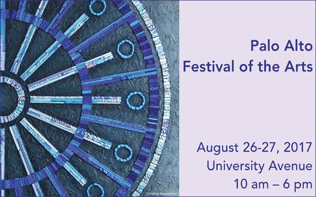 August 26 & 27, 2017 • 10 a.m. to 6 p.m. • University Avenue, Palo Alto