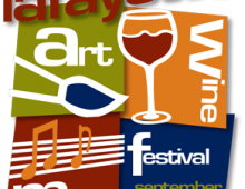 Lafayette Art, Wine & Music Festival – Sept 16-17, 2017 (10 am – 6 pm)