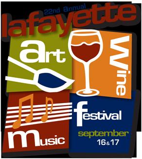 Lafayette Art, Wine & Music Festival - Sept 16-17, 2017 (10 am – 6 pm)