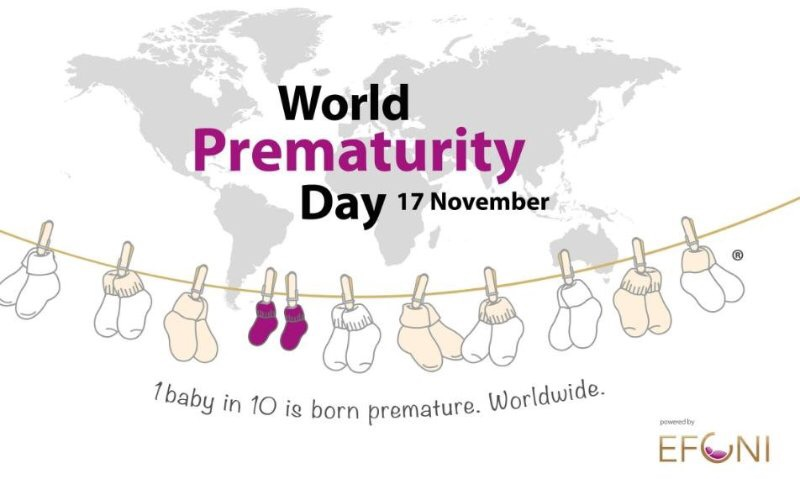 World Prematurity Day on 17 November