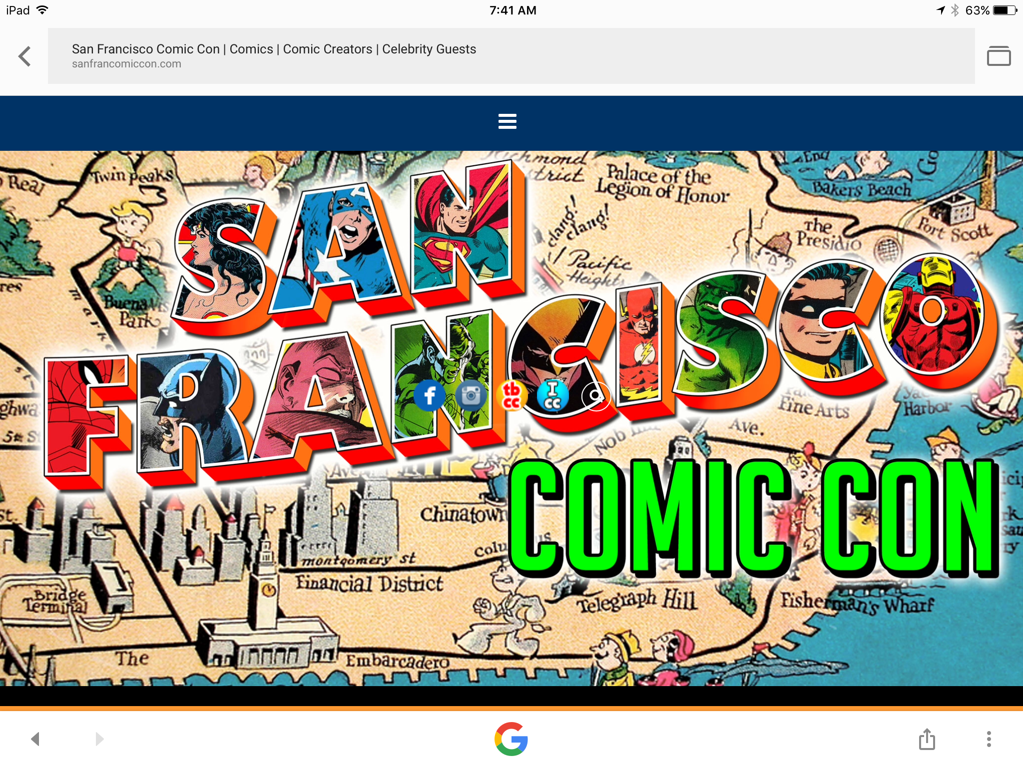 San Francisco Comic Con: Sept. 1-3
