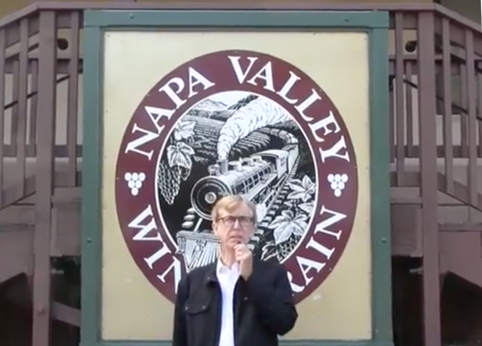 Join Morgan Rees on the Napa Valley Train