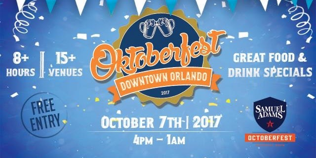 2017 Central Florida Oktoberfest Dates: October 7 and 28