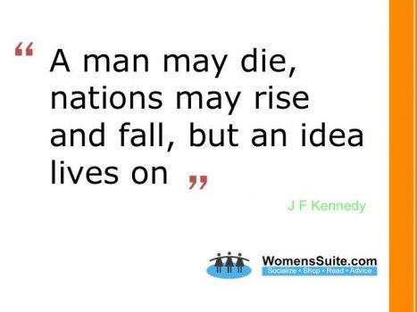 ideas live on