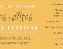 Los Altos 2017 Fall Festival – October 7-8