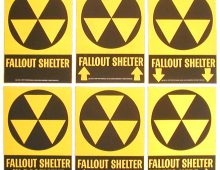 Robert Blakeley, Designer of the Fallout Shelter Sign - RIP