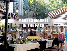 MAKERS MARKET IN THE PARK - Nov 4th - Santana Row