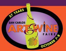 San Carlos Art & Wine Faire!