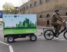 UPS trials sustainable delivery system in London