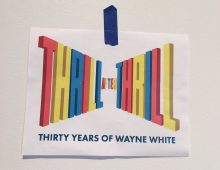 THIRTY YEARS OF WAYNE WHITE on exhibit at the Hunter Museum of American Art in Chattanooga, TN