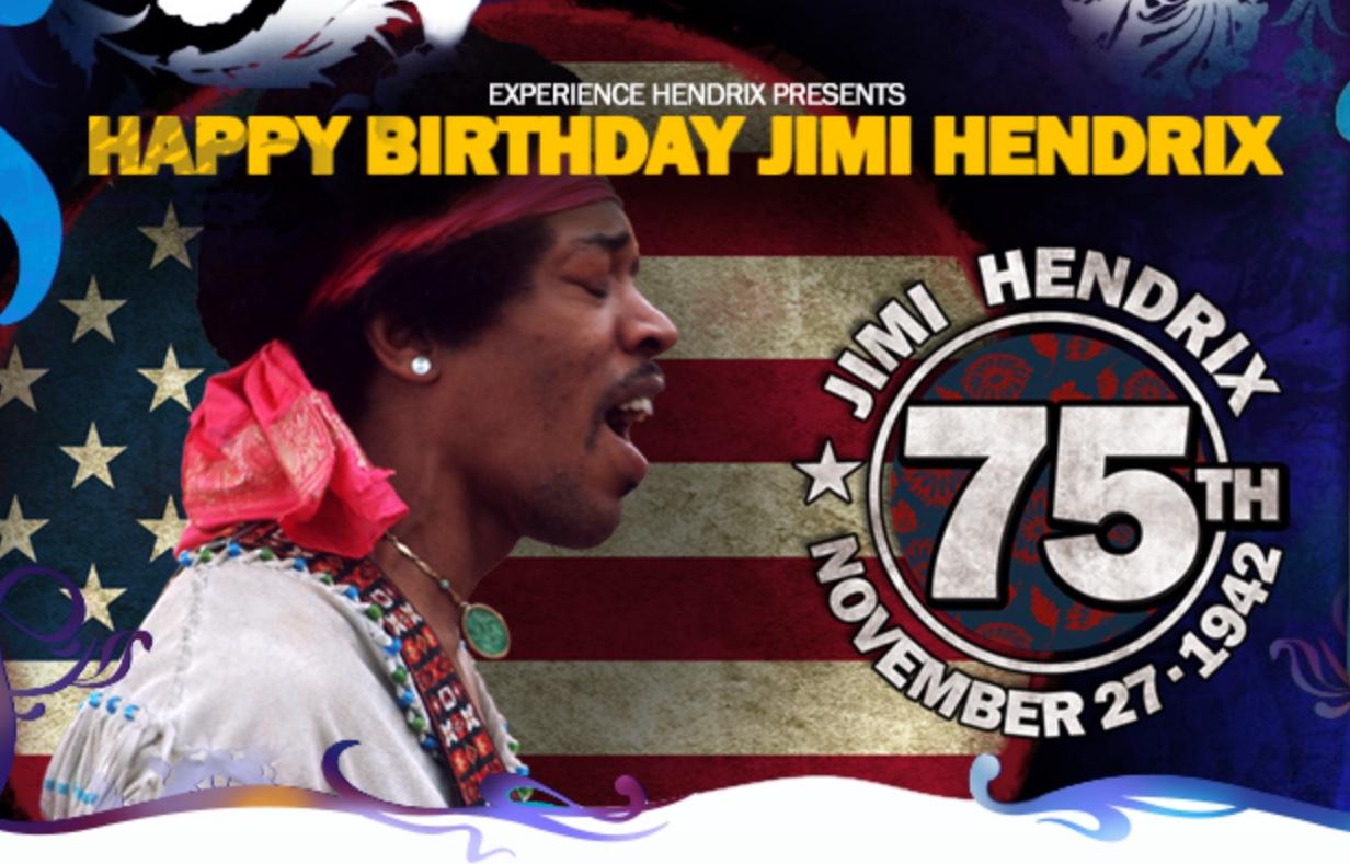 Jimi Hendrix 75th Birthday