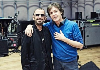 Beatles drummer Ringo Starr knighted by Queen Elizabeth.