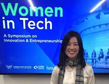 Sophia Velastegui spoke at Women In Tech