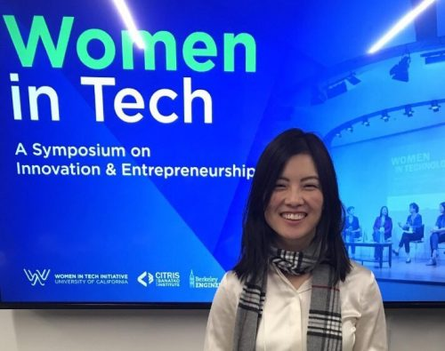 Sophia Velastegui spoke at Women In Tech