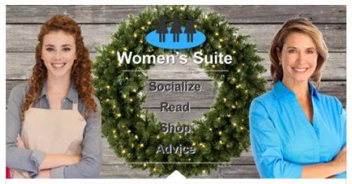 Women's Suite Happy Holiday's