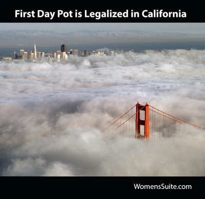 First Day Pot is Legalized in California