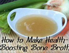 How to Make Homemade Bone Broth