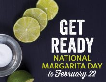 National Margarita Day 2018 is Feb. 22!