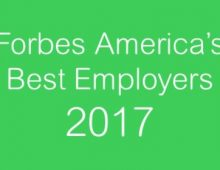 Forbes America's Best Employers 2017 RANKING