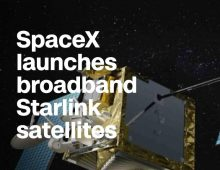 SpaceX Launches 1st Test Satellites for Starlink Internet Constellation Along with Spain's Paz