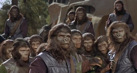 Planet of The Apes - 50th Anniversary