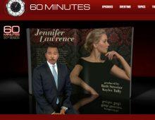 Jennifer Lawrence CBS' 60-Minutes interview