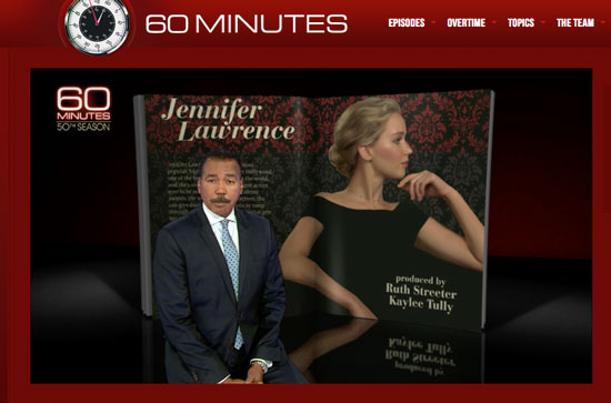 Jennifer Lawrence CBS' 60-Minutes interview