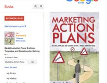 """""""Marketing Action Plans"""" by Morgan Rees is available — at Google Books:"""