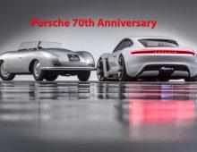 Porsche' 70th Anniversary