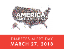 Tuesday is American Diabetes Alert Day, take the Type-2 Diabetes Risk Test