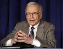 """Warren Buffett, """"I could end the deficit in 5 minutes,"""""""