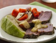 St. Patrick's Day: Slow-Cooker Corned Beef and Cabbage
