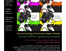 "UA Opera Theater with the Arizona Symphony Orchestra: ""Orpheus in the Underworld"" this weekend"