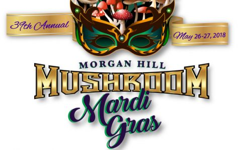 Morgan Hill Mushroom Mardi Gras Dates: May 26–27, 2018