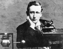 Marconi Patents the Radio