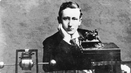 Marconi Patents the Radio