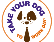 NATIONAL TAKE YOUR DOG TO WORK DAY: Friday 22nd of June