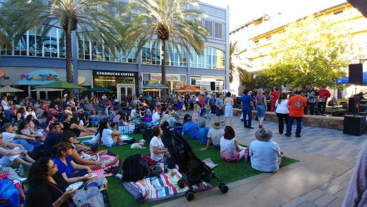 SANTANA ROW SUMMER MUSIC SERIES - July 3rd.