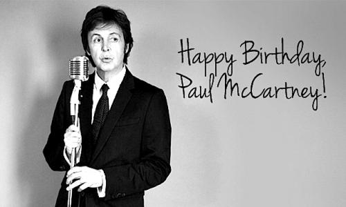 Paul McCartney Turns 76