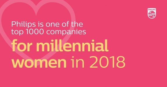 Philips recognized as a global champion of women's career growth and diversity in the workplace