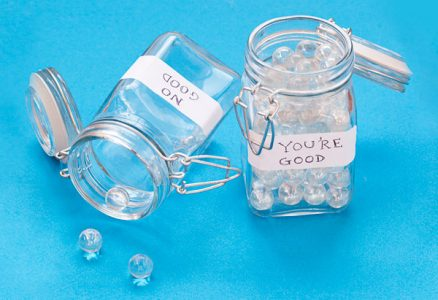 Acknowledge and promote positive behavior . . . . You're Good Marble Jar